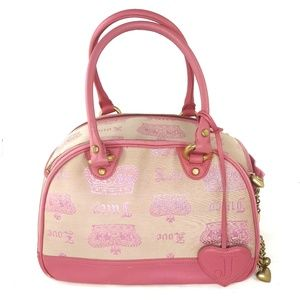JUICY Couture RARE Dog Cat Pet Carrier Purse Bag